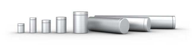 Wzory i rozmiary dystansów aluminiowych wykonanych z aluminium