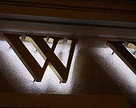 podświetlana litera 3d