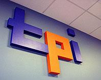 Litery ze styroduru TPI pomalowane farbą akrylową
