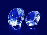 Szklane diamenty