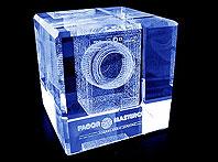 Szklany prezent dla klienta firmy Fagor