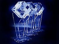 Szklana statuetka Nagroda NOT'u