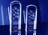 Szklana statuetka - Nagroda dla windykatora