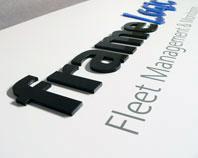 Frame Logic - szyld dla firmy zarządzajacej flotą pojazdów