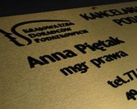 Złoty szyld dla kancelari podatkowej zrzeszonej w Krajowej Izbie Doradców Podatkowych