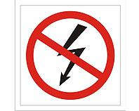Tablica tabliczka ostrzegawcza - Nie Włączać