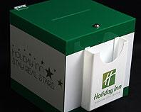 Pudełko z pleski na opinie klintów hotelu
