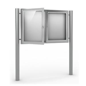 Gablota aluminiowa reklamowa