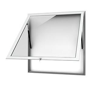 Aluminiowa gablota ogłoszeniowa