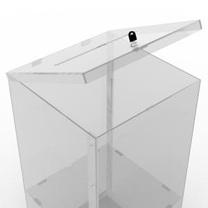 Skrzynka podawcza wrzutnia urna na dokumenty dla urzędu