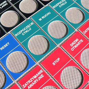 tabliczki opisowe do przelacznikow przycisków