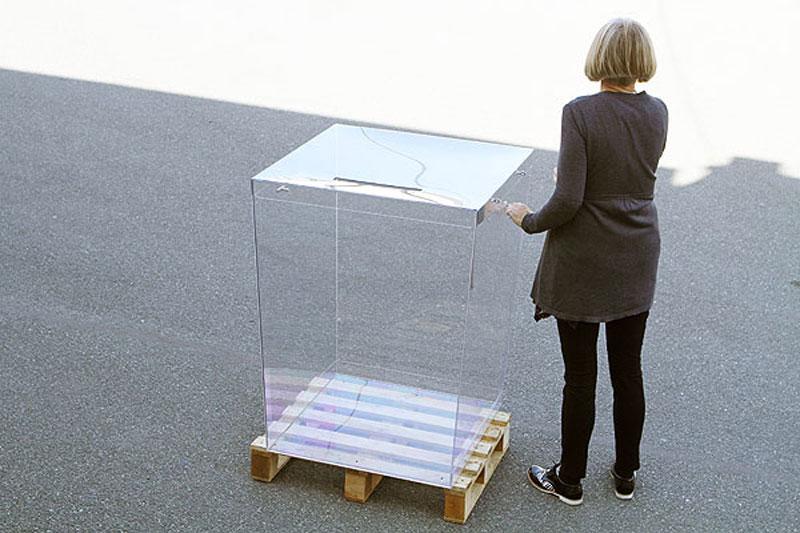 Urna wyborcza do 750 wyborców dostosowana dla niepełnosprawnych