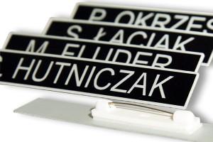 Identyfikator imienny imiennik do munduru