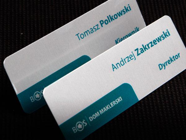 Identyfikatory metalowe drukowane dla zarządu