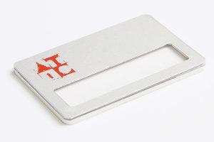 identyfikator z okienkiem standardowy wzór 5
