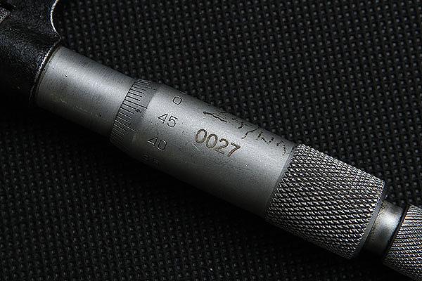 Grawerowanie metalu narzędzie pomiarowe
