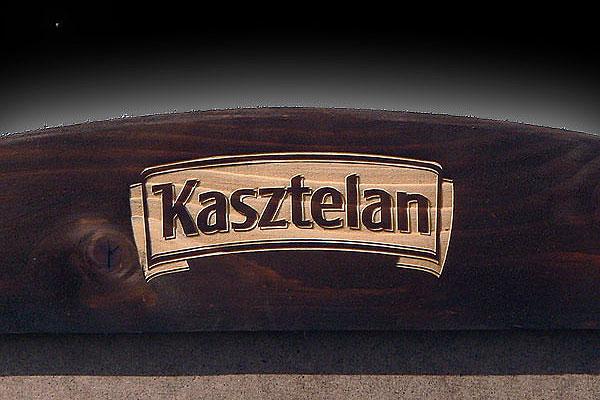 Grawerowanie drewna potykacz dla marki kasztelan