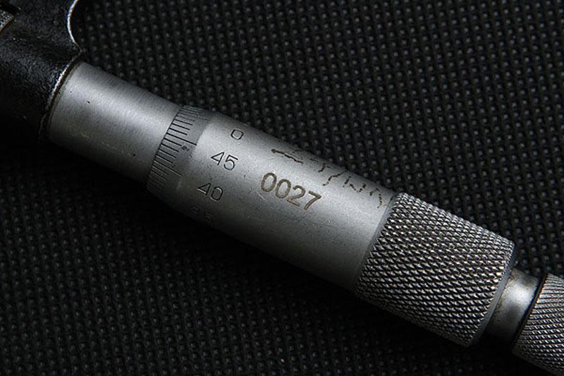 Grawerowanie znakowanie narzędzi mikrometry