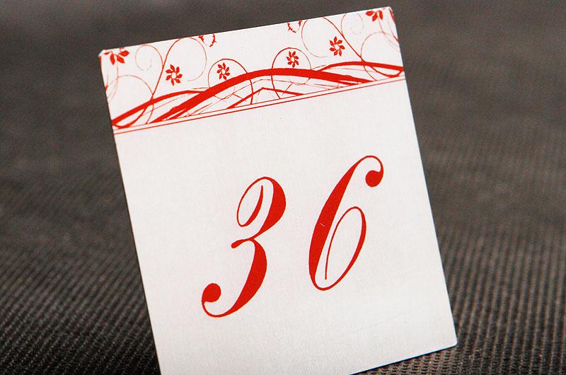 Metalowy numerek na drzwi dla pensjonatu