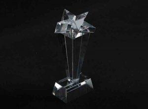 Szklana statuetka gwiazda 2