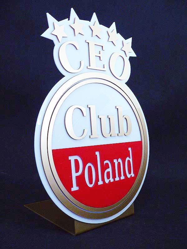 Statuetka firmowa akrylowa CEO