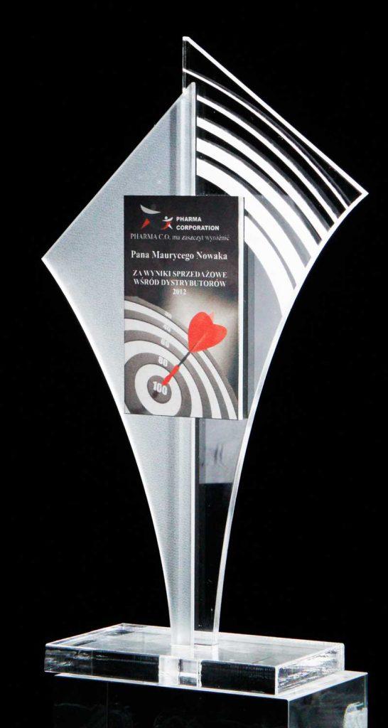 Statuetka z akrylu nagroda w turnieju