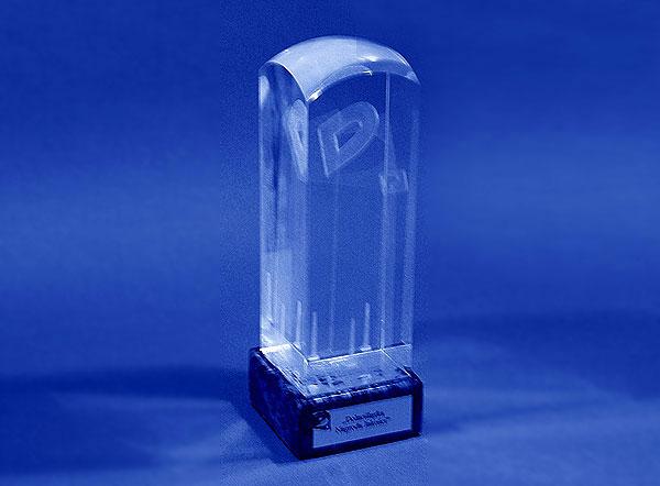 Szklana statuetka dolnośląska nagroda jakości