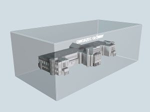 Wizualizacja 3d Dworca Głównego we Wrocławiu - perspektywa 1