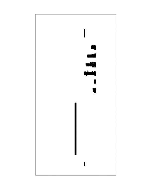 Wizualizacja grawerowania szklanej statuetki gratulacyjnej z okazji awansu - widok z boku