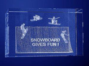 Statuetka nagroda snowboardowa