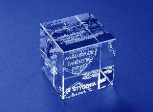 Serce w szklanej statuetce dla WOŚP