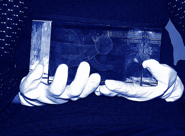 Statuetka na licytację w aukcji charytatywnej - 14 finał WOŚP