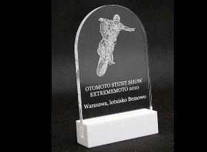 Statuetka sportowa nagroda akrobacje motocyklowe