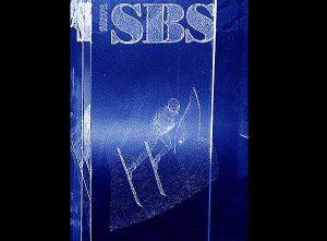 Projekt narciarskiej statuetki sportowej