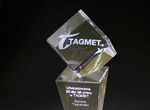 Statuetka firmowa Tagmet