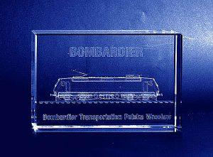 Statuetka firmowa Bombardier