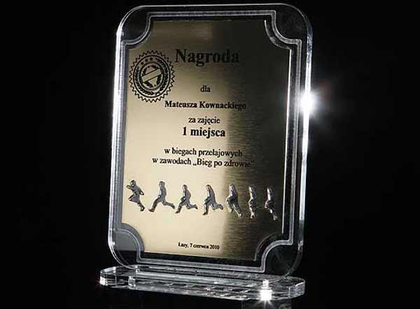 Statuetka nagroda w biegach przełajowych