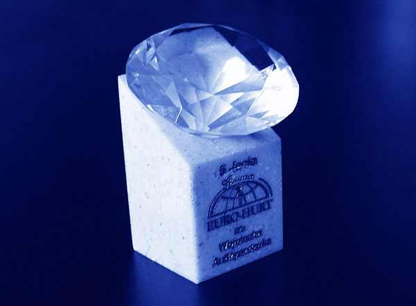 Statuetka nagroda diament