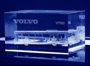 Statuetki firmowe Volvo Autobus