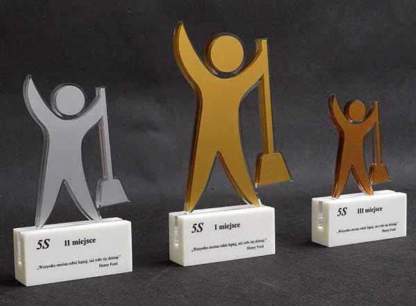 Statuetka nagroda za projekt informatyczny IT