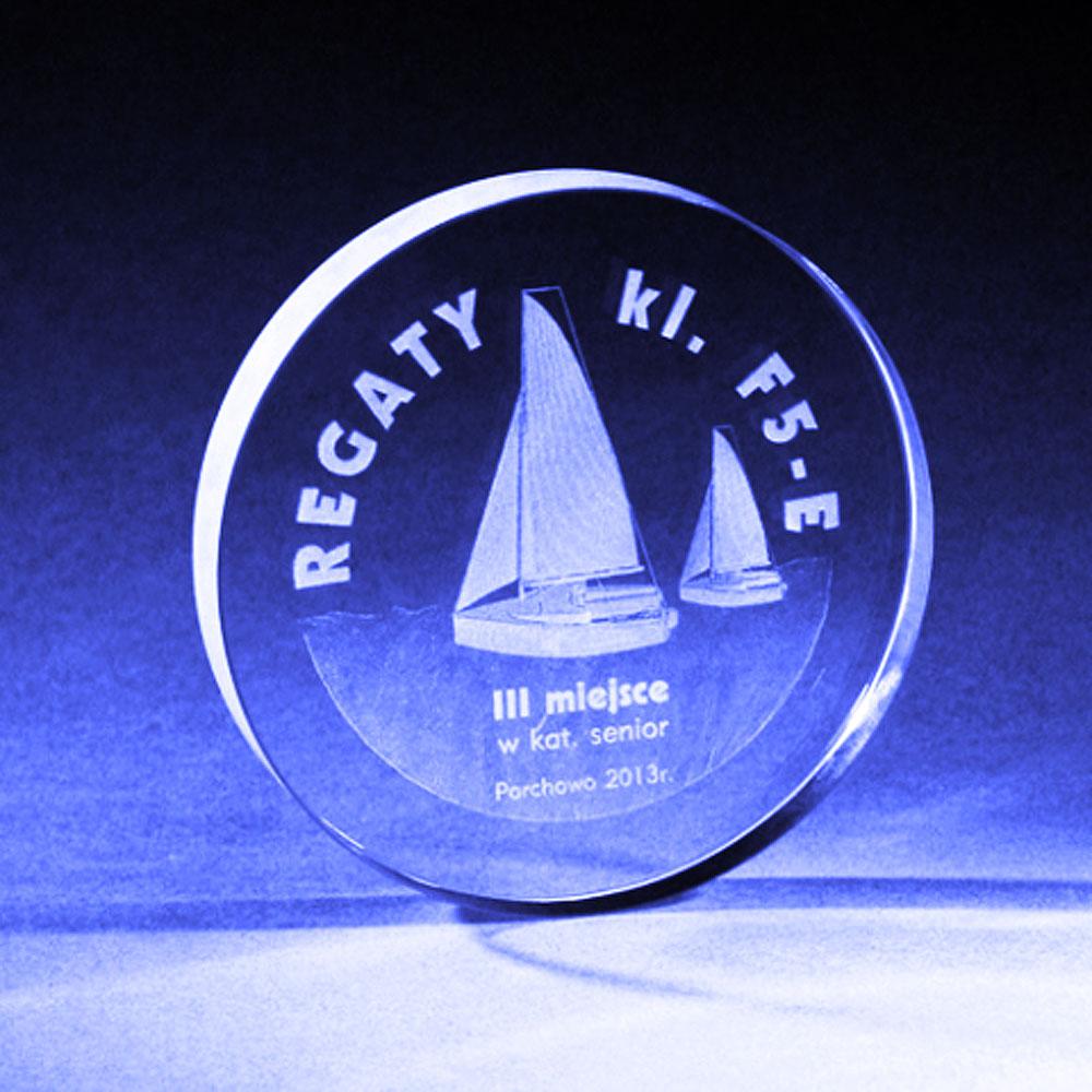 Szklany medal regaty 2013