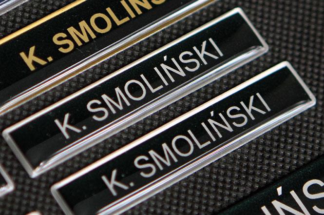 Identyfikatory imienniki dla OSP