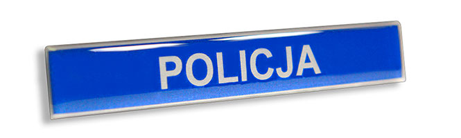 Imiennik zalewany żywicą polimerem dla Policji