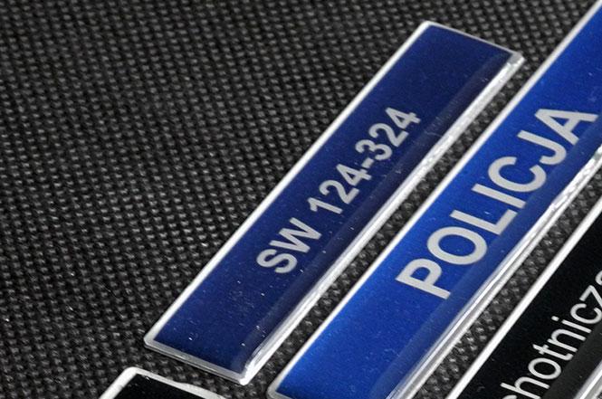 Identyfikator numeryczny zalewany polimerem dla Służby Więziennej