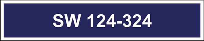 Rysunek iidentyfikatora numerycznego do munduru dla Służby Więziennej